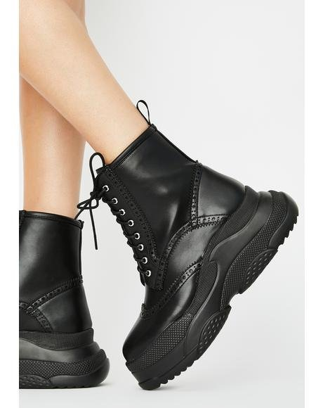 Take Notes Ankle Boots