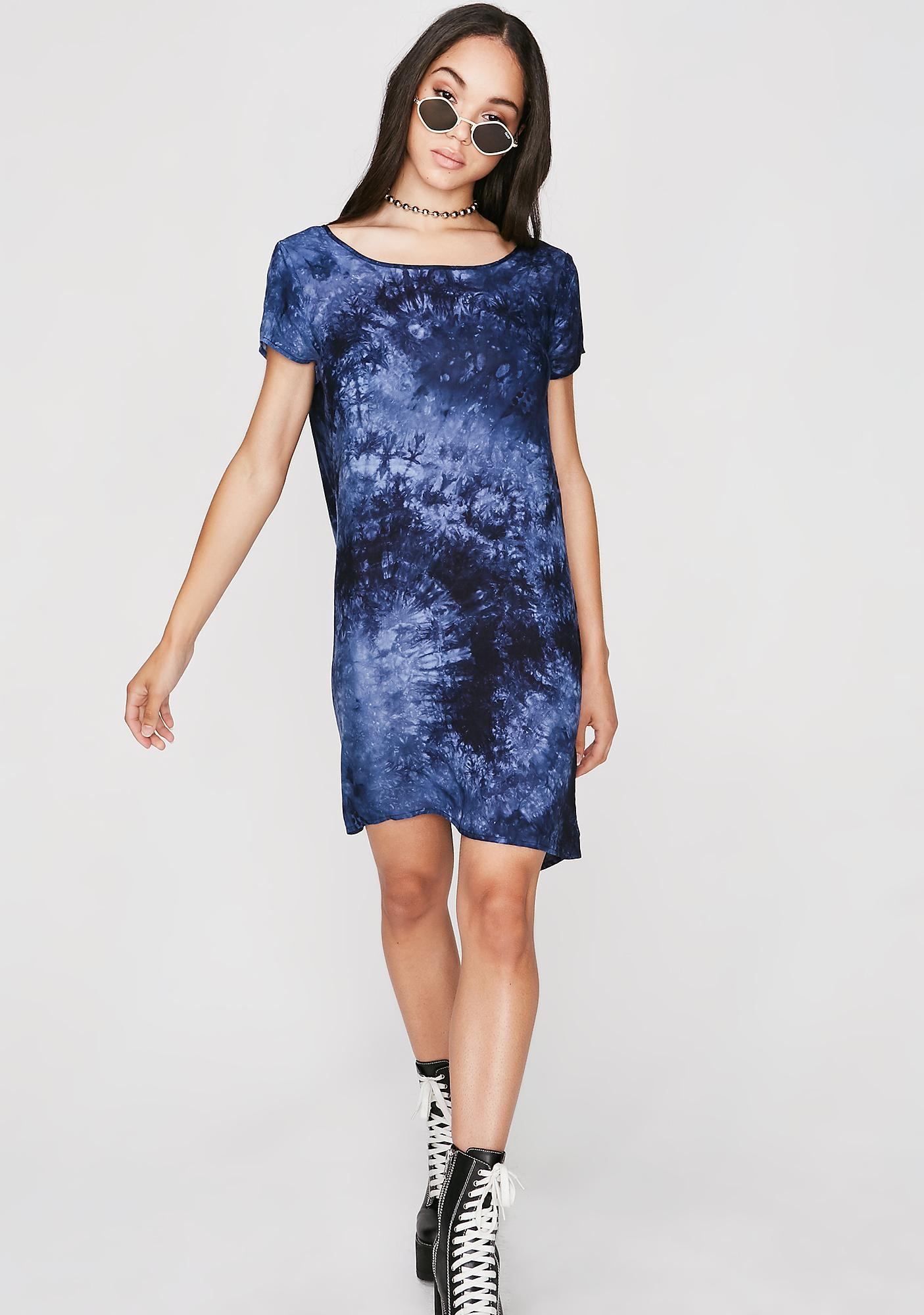 In The Clouds Tie Dye Dress