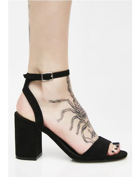 Better Than Eva Block Heels