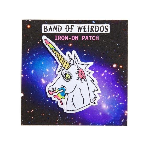 Band of Weirdos Zombie Unicorn Patch