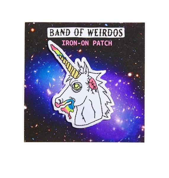Band of Weirdos Zombie Unicorn Patch