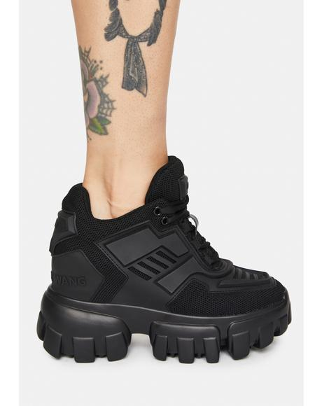 Blackout Psycho Candy Platform Sneakers