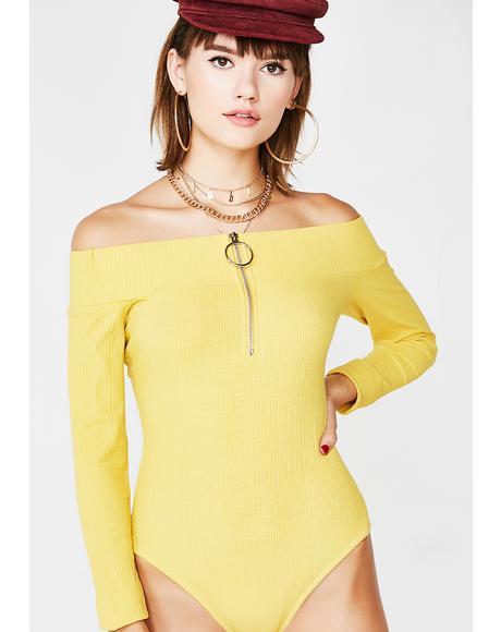 Euphoric Bliss Zip Bodysuit