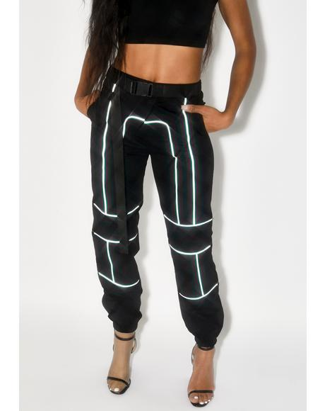 Zhenya Reflective Pants