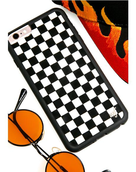 Check Plz! iPhone Case