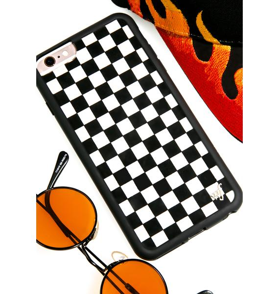 Wildflower Check Plz! iPhone Case