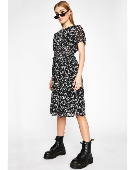 Gives You Life Midi Dress