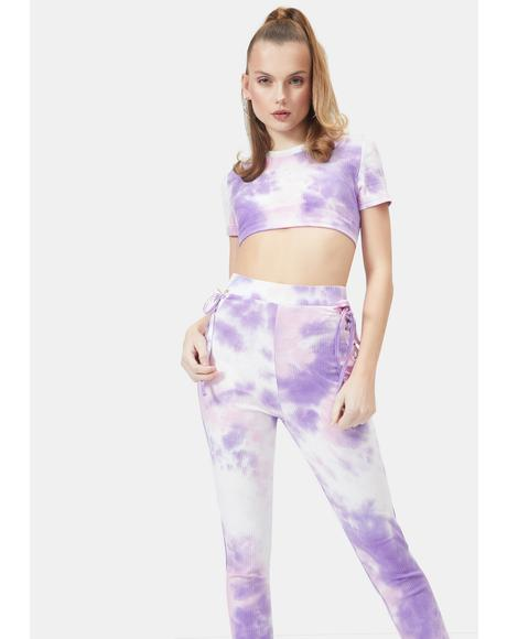 Gem Keep It Groovy Tie Dye Set