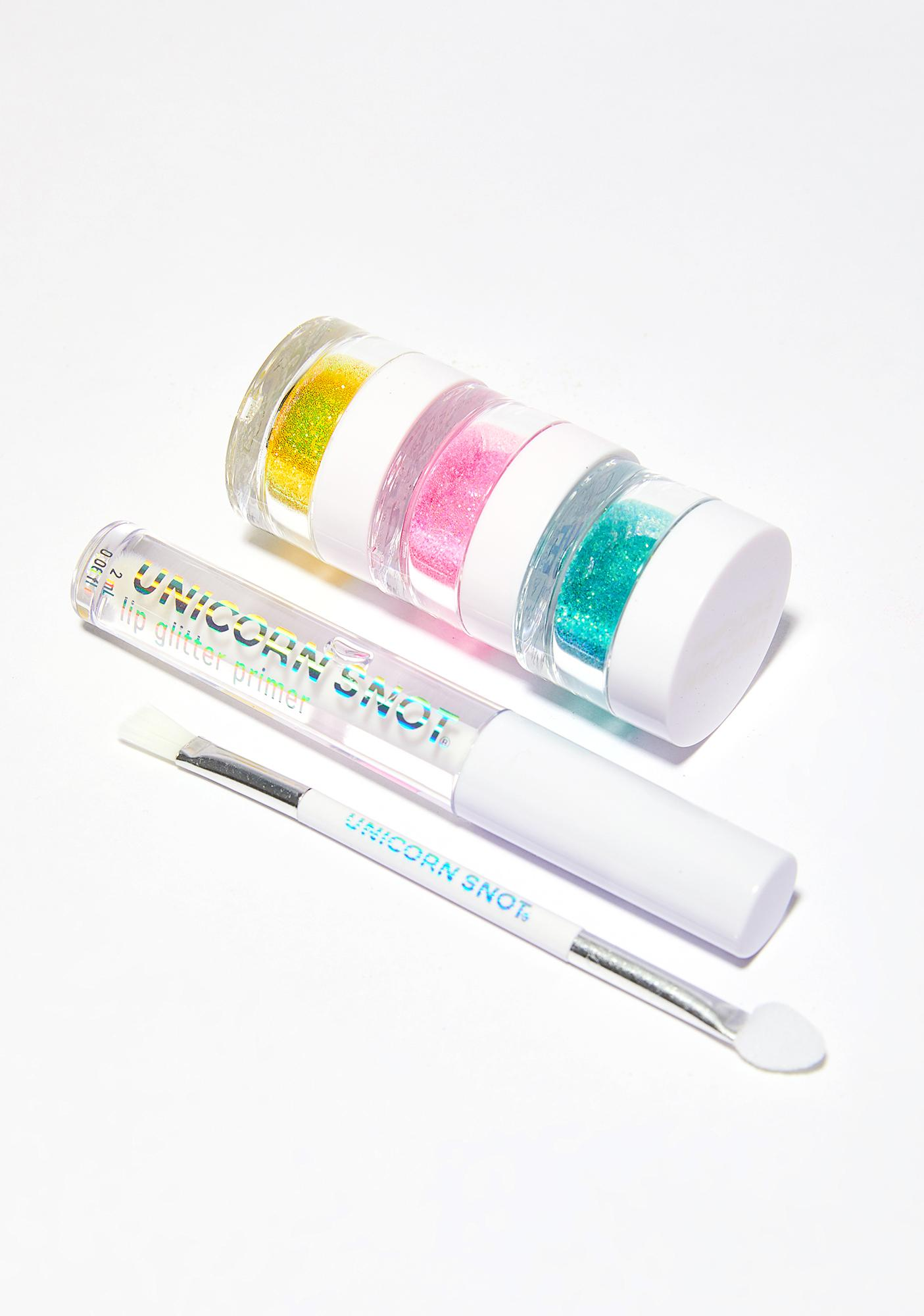 Unicorn Snot Lip Glitter Kit