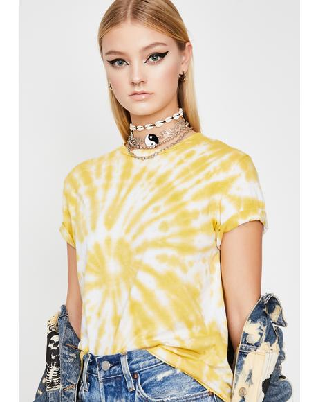 Sunny High Summer Tie-Dye Tee