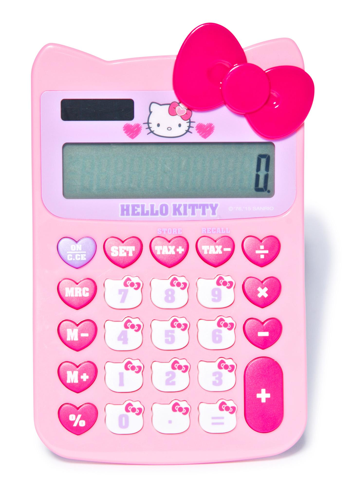 Sanrio Hello Kitty Calculator