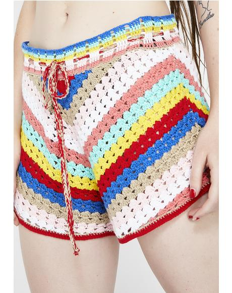 Gigi Crochet Shorts