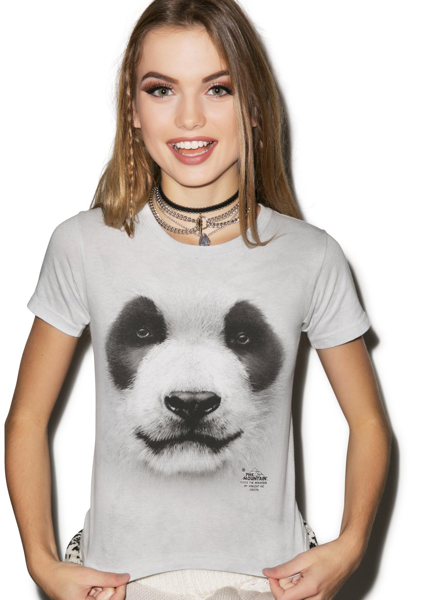 Big Face Panda Top