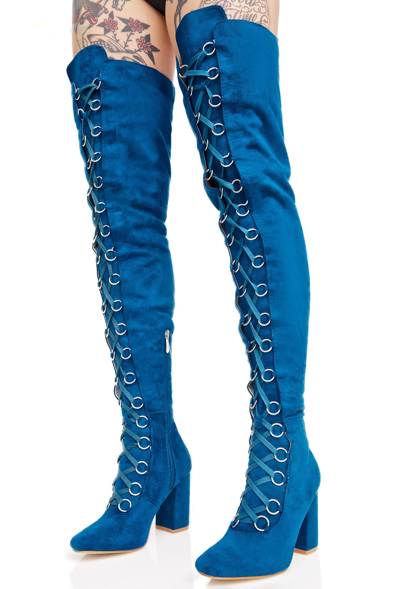 Royal Love Story Thigh-High Boots
