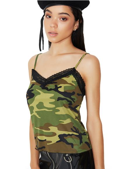 Cadet Cutie Lacy Camisole