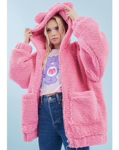 Warm Fuzzies Oversized Hoodie