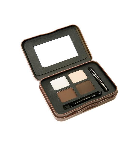 LA Girl Dark And Defined Inspiring Eyebrow Kit