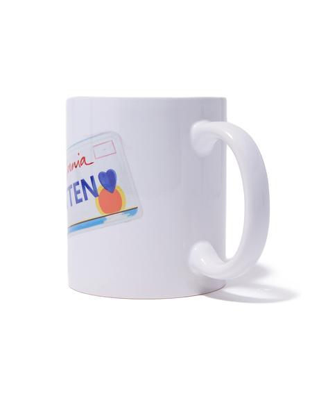 Kitten Plate Mug