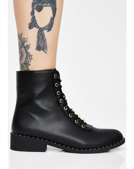 Bae Parade Combat Boots