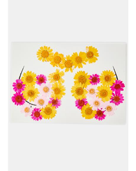 Pink & Yellow Flower Pasties