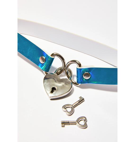 Unlock This Heart Choker