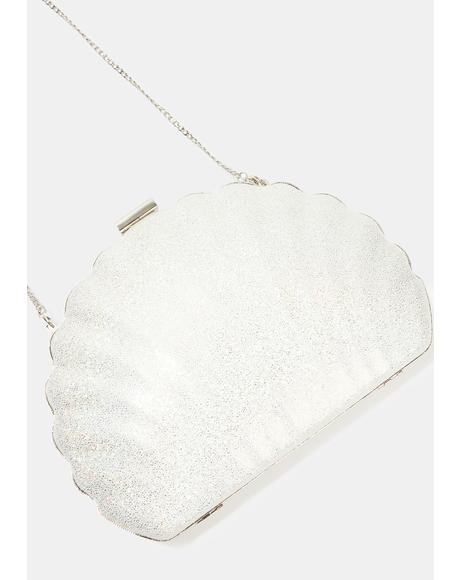 Shell Glitter Athena Cross Body Bag