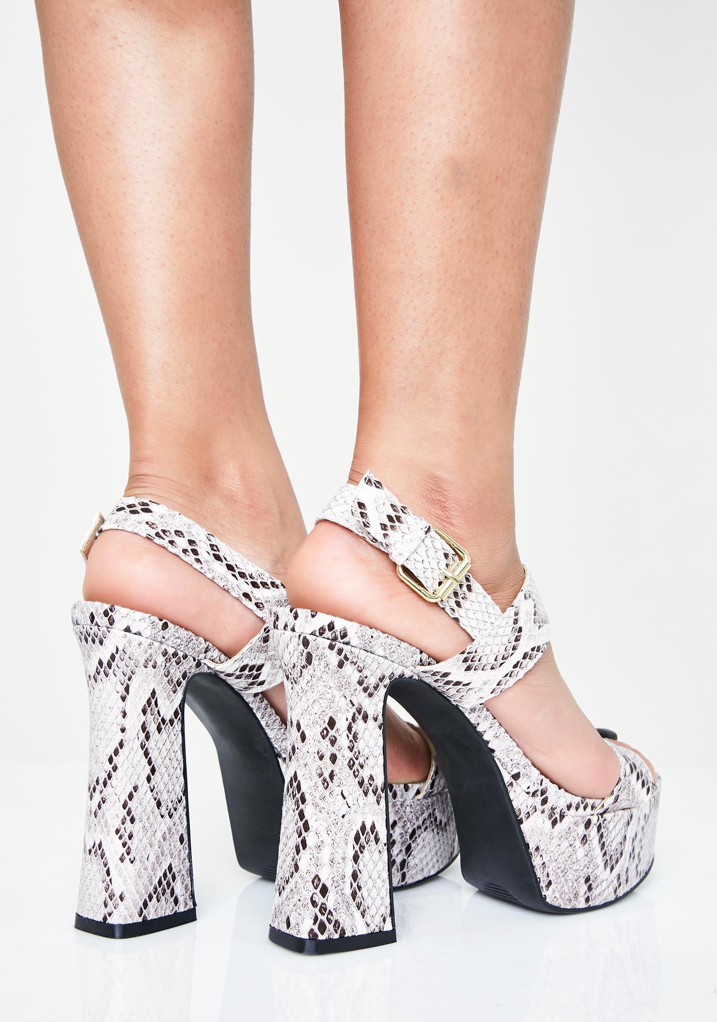 Slither Sis Platform Heels