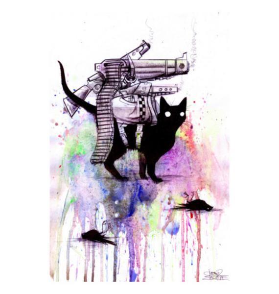Lora Zombie Super Cat