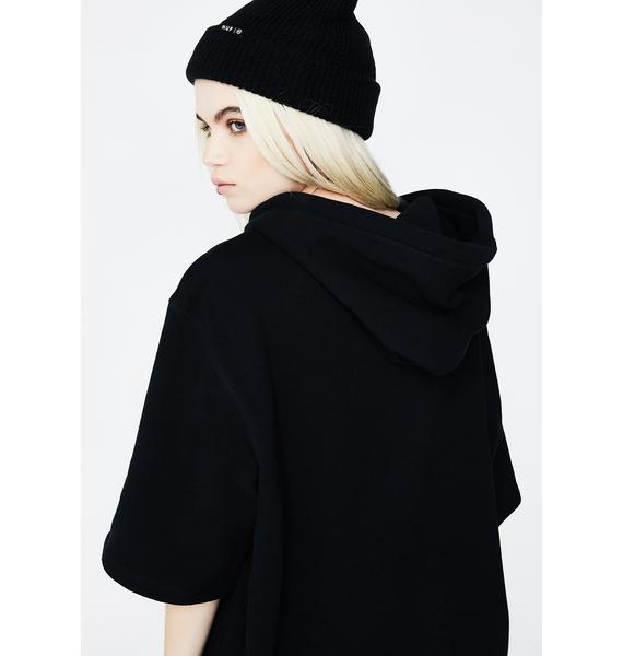 HUF 3 M Classic H Short Sleeve Fleece Hoodie