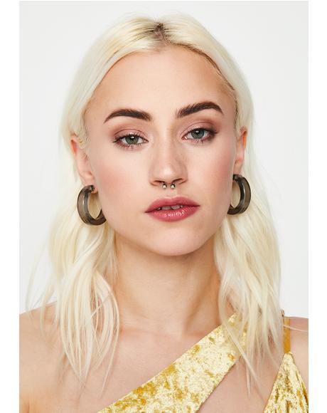 Make You Jelly Hoop Earrings