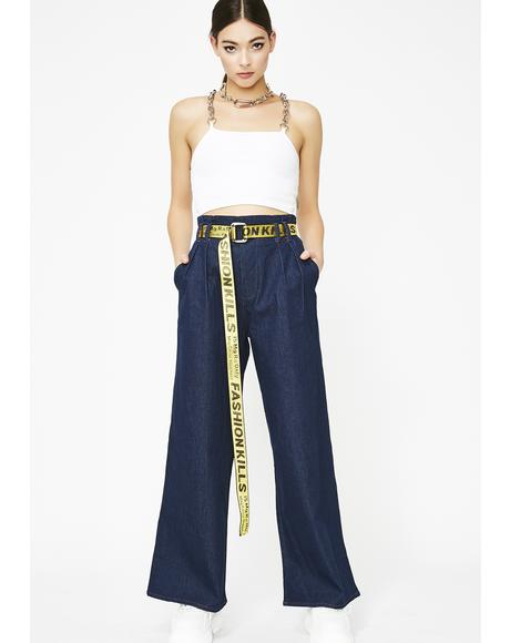Independent Bish Wide Leg Jeans