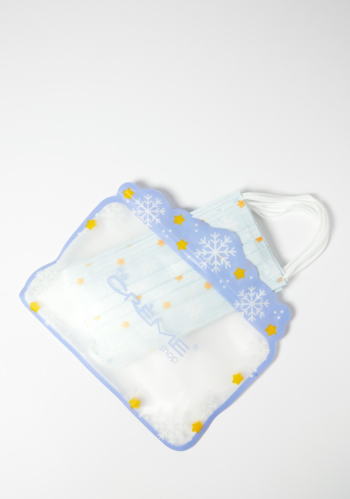 The Crème Shop Snowfall Holiday Face Mask Set
