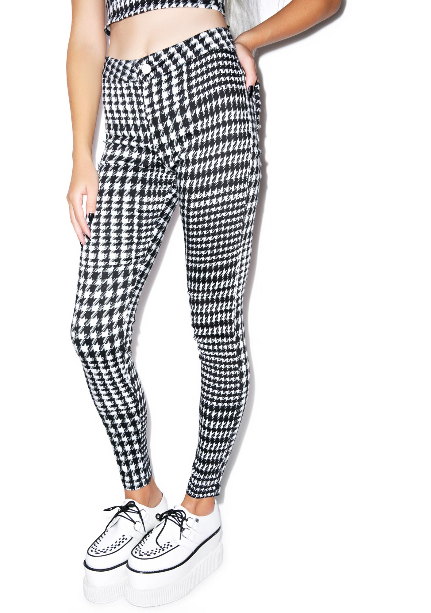 Motel Galaxy High Waisted Trouser