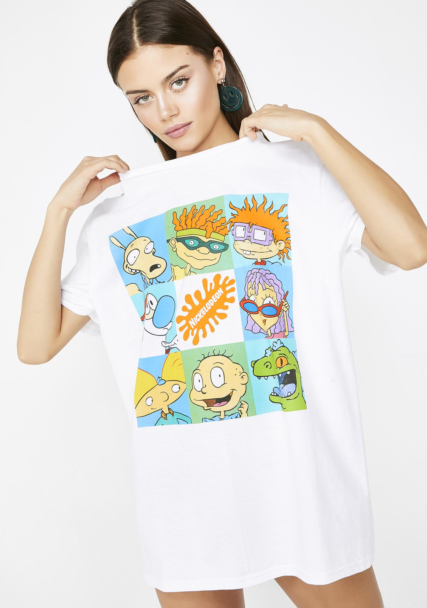 7bae80084 90s Throwback Nickelodeon Nick At Night Tv Shows Graphic Tee | Dolls ...