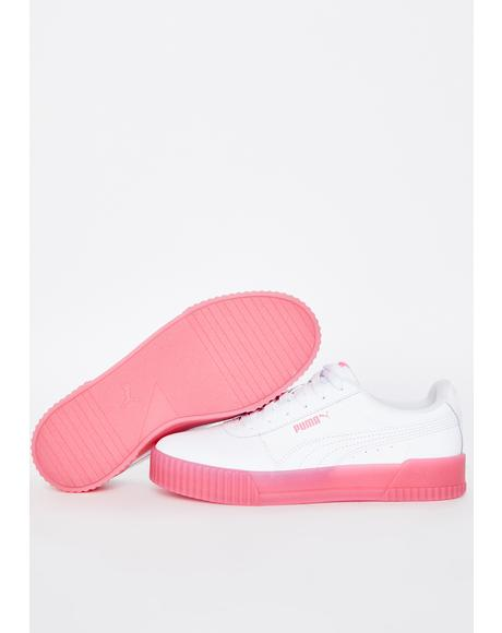 Bubblegum Carina Chrystal Sneakers