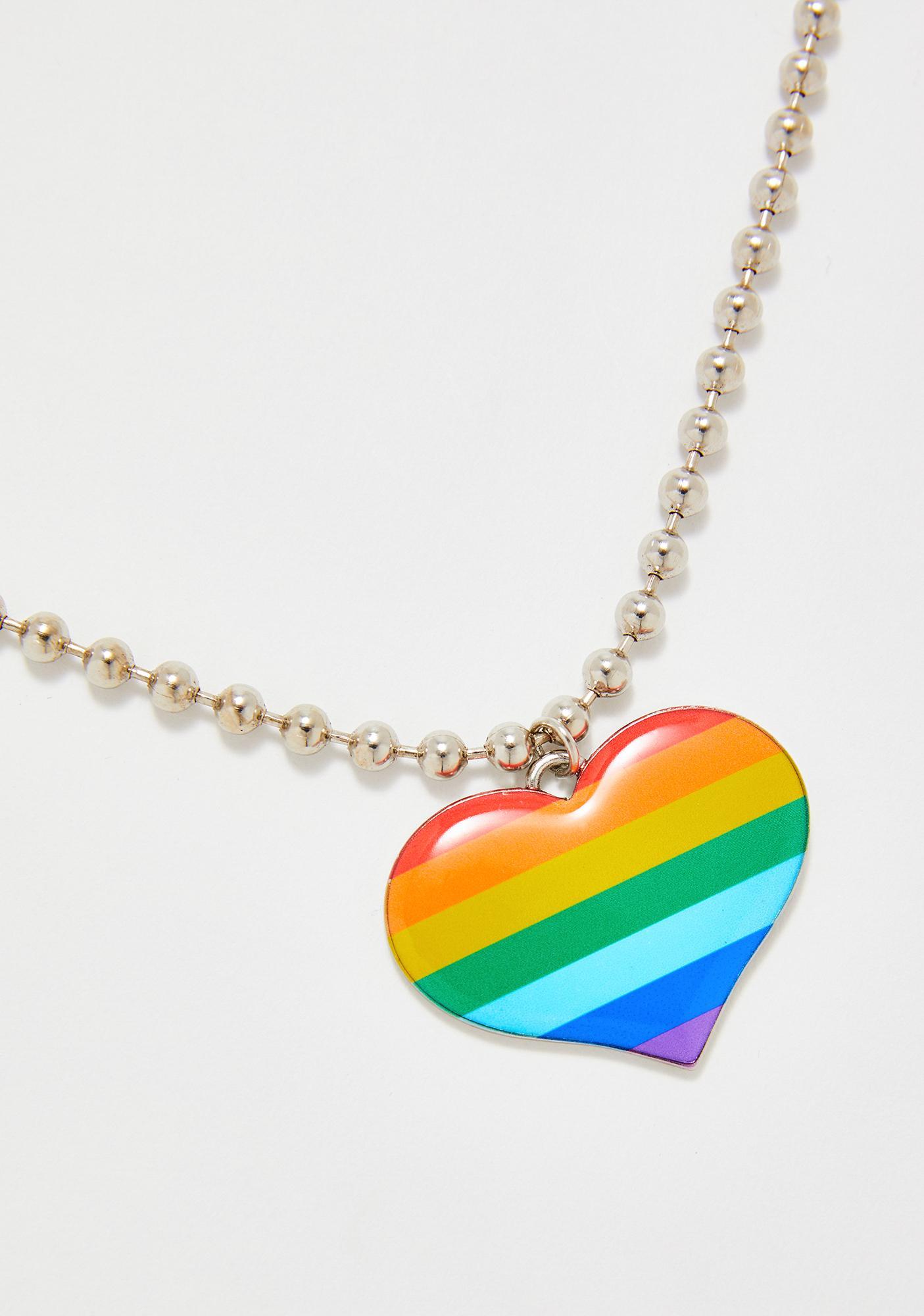 Pride N' Joy Heart Necklace