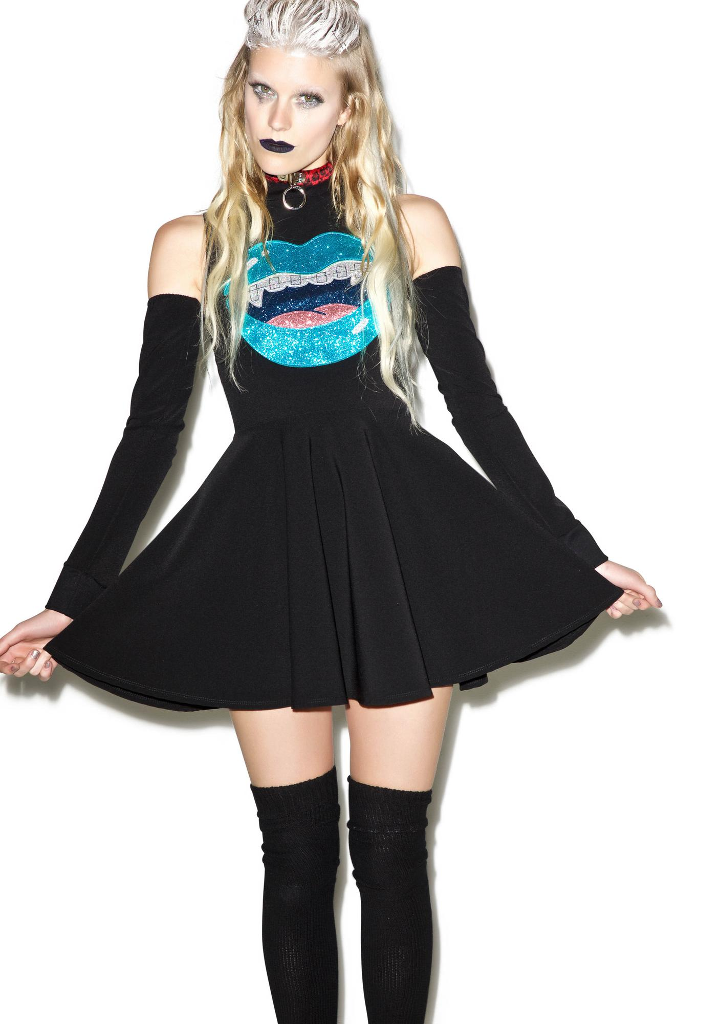 Indyanna Lilly Glitter Vamp Skater Dress