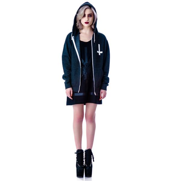 Tech Skull Zip Up Hoodie