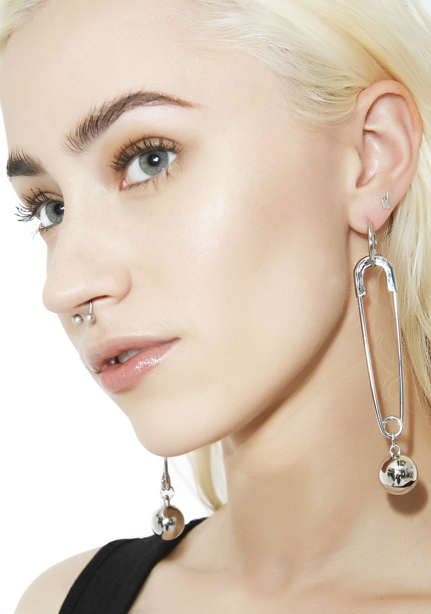 What�s Yer Point Safety Pin Earrings