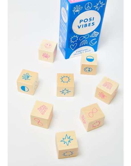 Posi Vibes Fortune Telling Dice