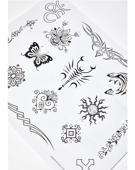 Earth Henna Classic Tattoo Kit