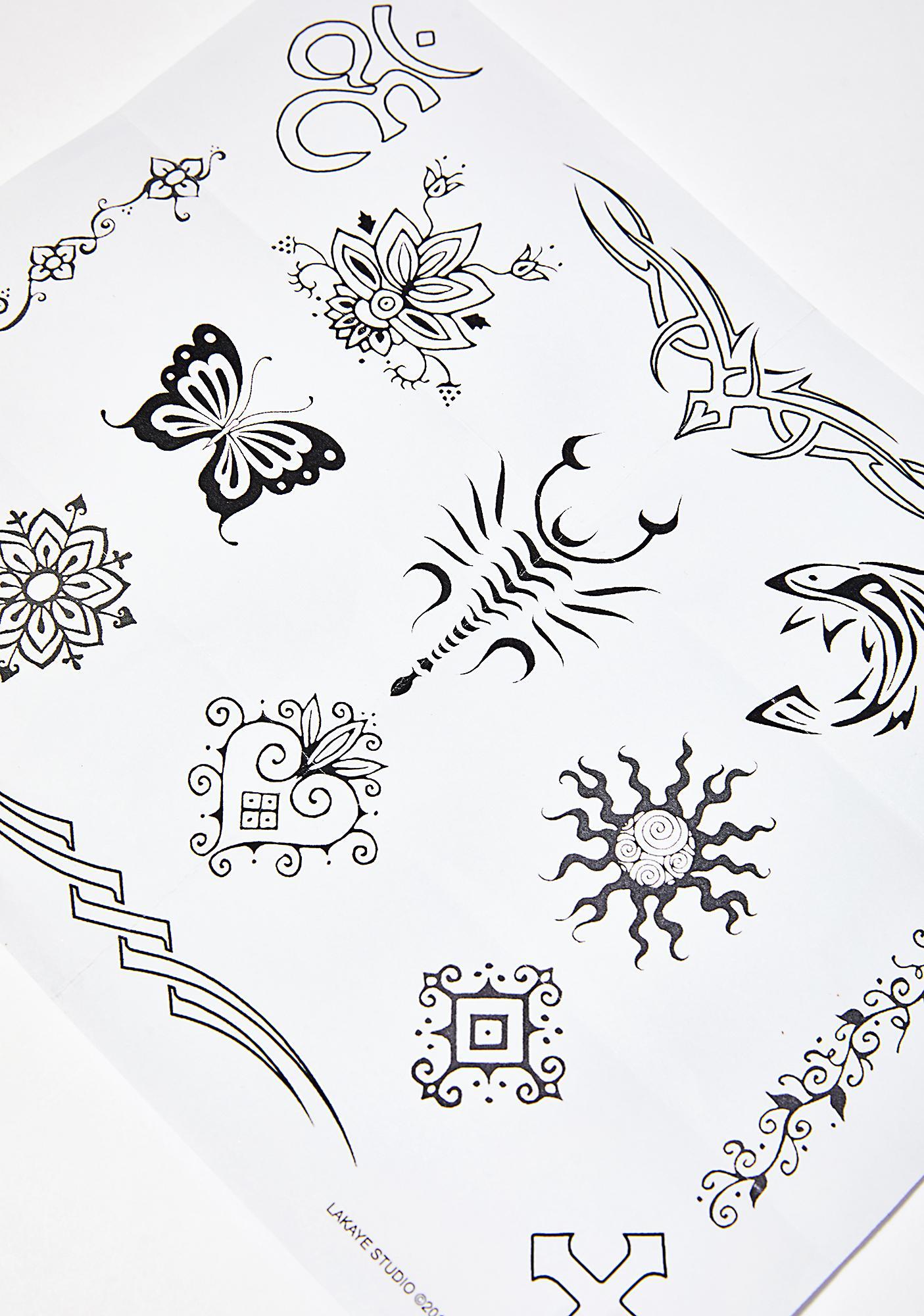 Earth Henna Earth Henna Classic Tattoo Kit