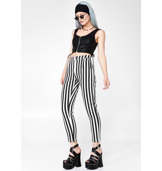 Itz Showtime Striped Pants