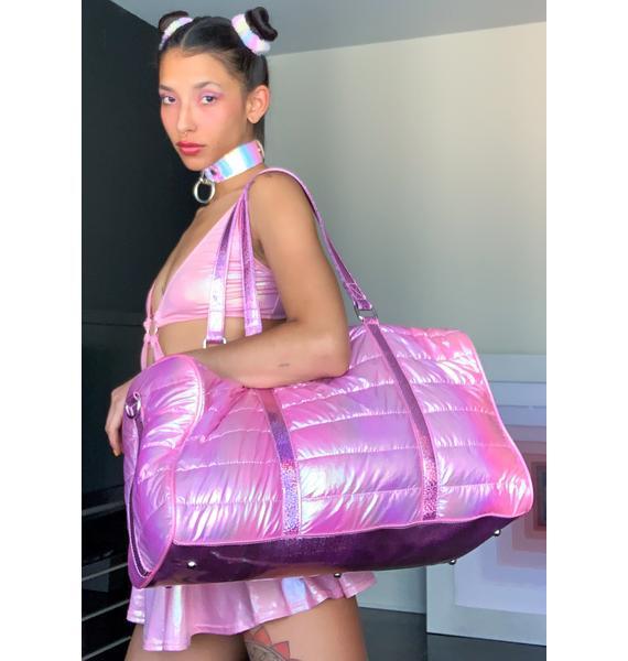 Sugar Thrillz Off To Pixieland Duffel Bag