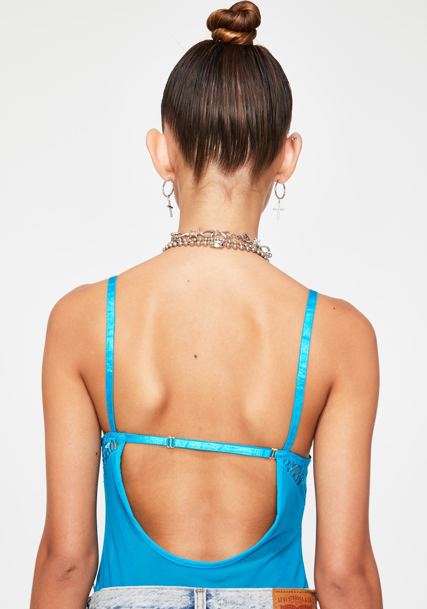 Aqua Allure Lace Bodysuit