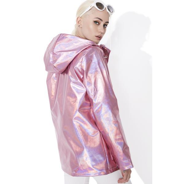 Glamorous Metallic Jacket