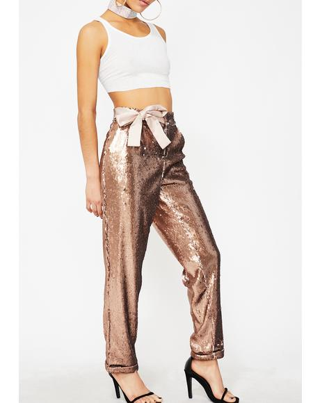 Sparkle Flash Sequin Pants