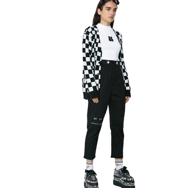 Lazy Oaf Zip Your Mouth Trousers
