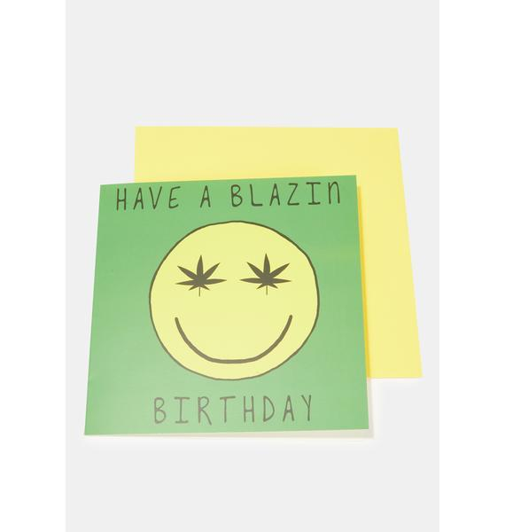 Central 23 Have A Blazin' Birthday Card