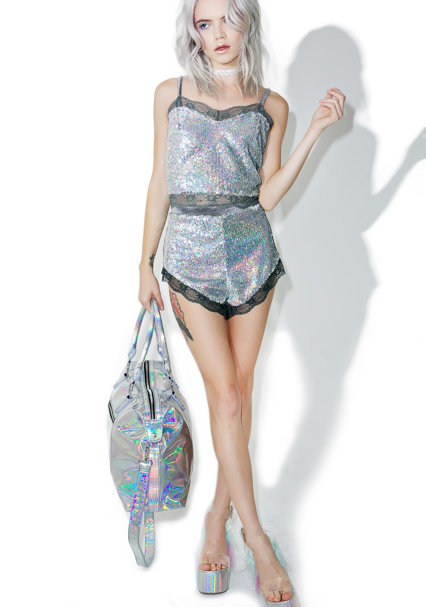 Sweet Nothings Sequin Shorts